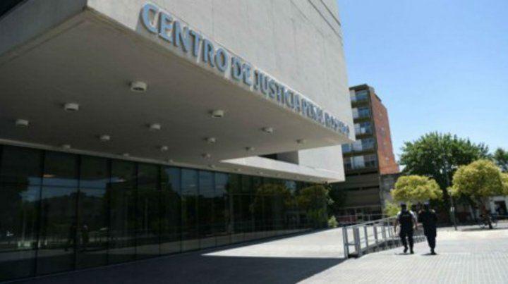 La audiencia de esta mañana se llevó adelante en el Centro de Justicia Penal.
