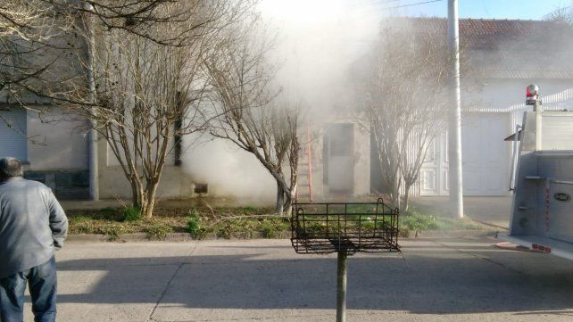 Padre e hija murieron por inhalación de monóxido de carbono en un incendio