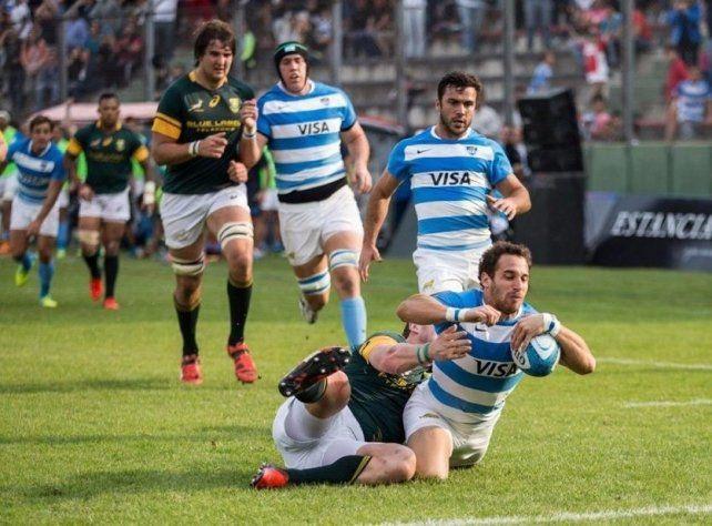 En una gran actuación, Los Pumas vencieron a los Springboks