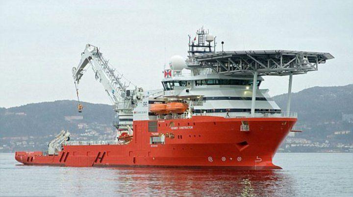 Imponente. El navío es considerado el más moderno del mundo. Ya navega hacia Comodoro Rivadavia.