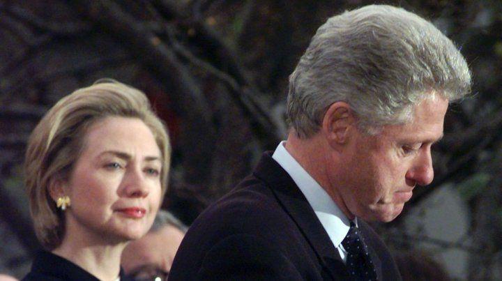 Clintongate. El 42º presidente de EEUU vio peligrar su mandato en 1999 por su affaire con Monica Lewinsky.