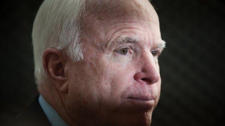 Mirada. El rostro de McCain se hizo familiar para los estadounidenses.