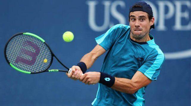 Pella debutó en el US Open con un triunfo contundente