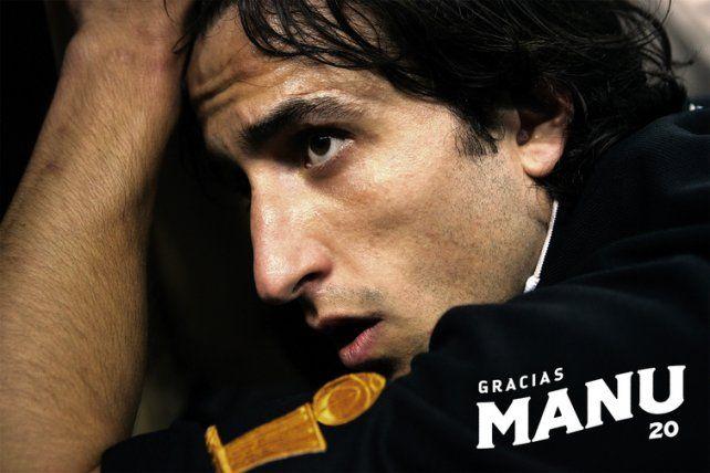 Manu Ginóbili y un emocionante homenaje de los Spurs