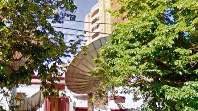 Sin fibra. El frente de la empresa de cable local Venado Visión.