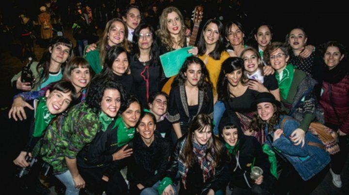 Juntas somos más. La agrupación de Mujeres Músicas de Rosario tiene 470 artistas en el Facebook del Colectivo.