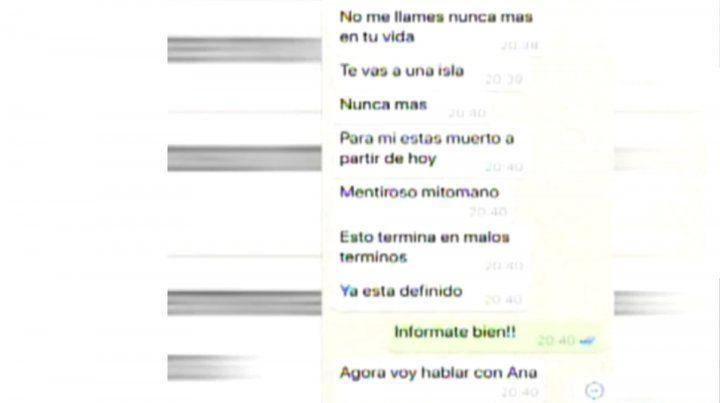 El chat entre Luciana Salazar y Redrado que desató otro escándalo