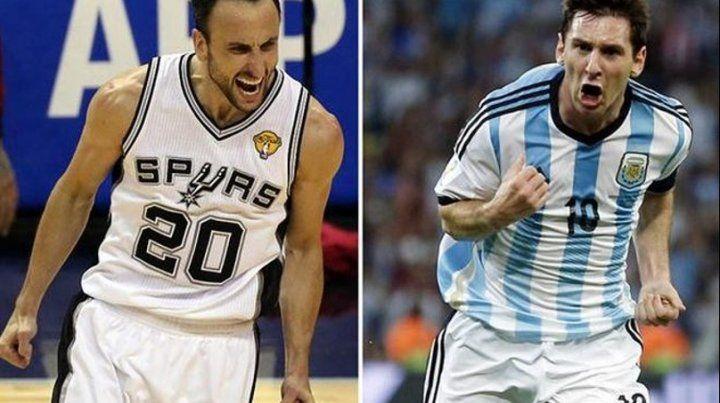 Leo Messi le rindió un particular tributo a Manu Ginóbili