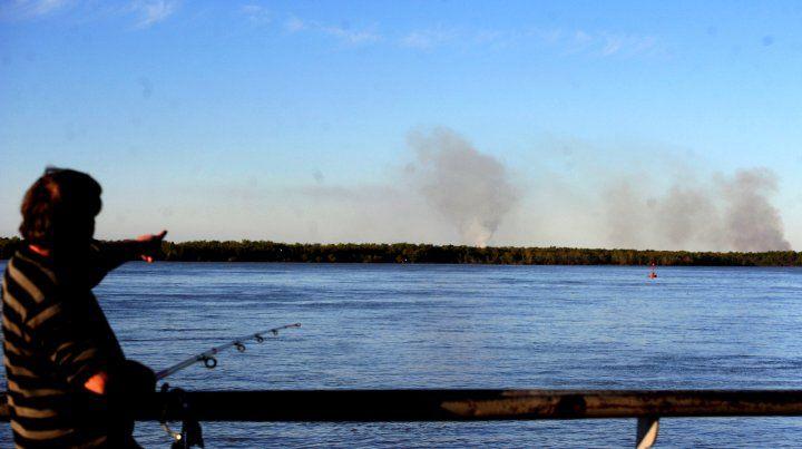 Fein afirmó que Rosario va a actuar jurídicamente por las quemas en las islas