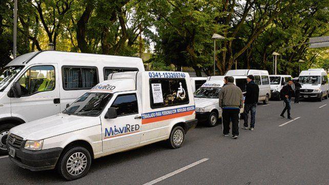 Reclamo. Los prestadores se movilizarán por avenida Pellegrini.
