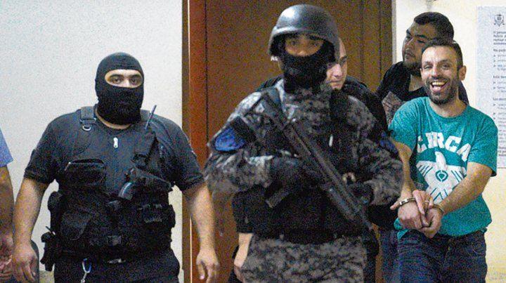 Libre. Gastón Ragusa (derecha) fue detenido e imputado a fines de abril.
