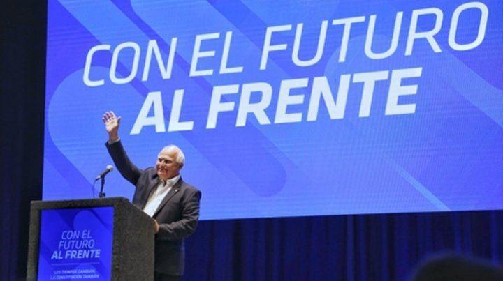 El gobernador dijo que si pierden seguirán trabajando por la reforma en una cuarta gestión del FP.