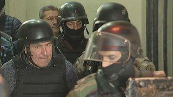 José López, el exsecretarios de Obras Públicas, preso.