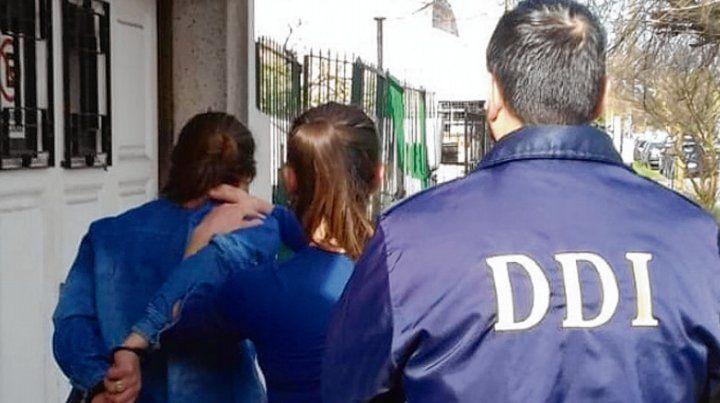 Adentro. Dos líderes fueron detenidos ayer en la ciudad de Catriel.