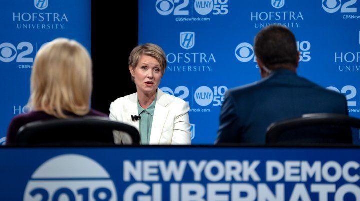 La actriz de Sex and the city que apuesta a ser gobernadora de Nueva York