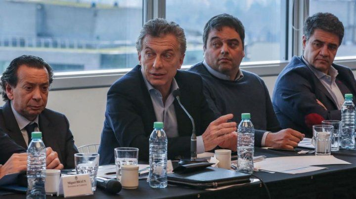Reunión de Macri con los supermercadistas