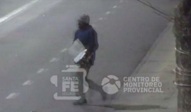 Un video muestra como detienen in fraganti a dos ladrones