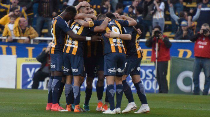 El gol de Camacho abrió la cuenta el domingo en el Gigante.