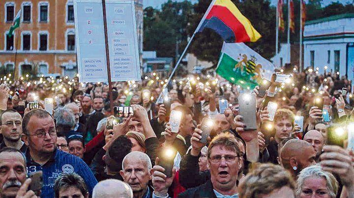 Odio. El este germano sigue siendo el foco de brotes xenófobos contra los extranjeros
