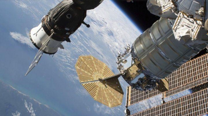 tocada. El módulo ruso Soyuz