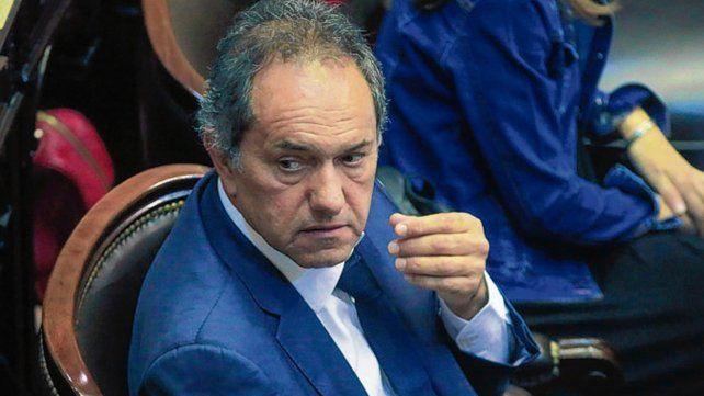 en 2015. Scioli recordó sus advertencias durante la campaña presidencial.