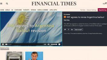 los diarios del mundo hicieron tapa con la debacle financiera