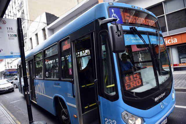 El domingo aumenta el boleto del transporte urbano de pasajeros en Rosario