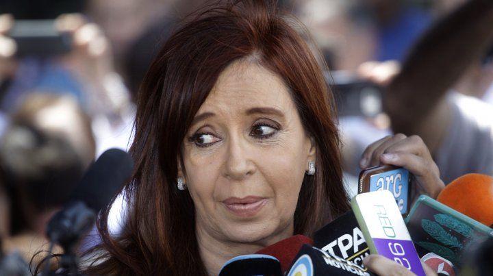 Cristina aseguró que piden su detención por frenar el tarifazo