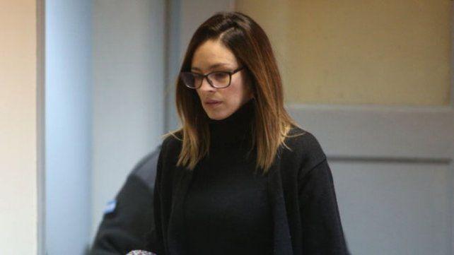 Acusada. Julieta Silva durante las audiencias. El lunes podrá hablar antes de escuchar la sentencia.