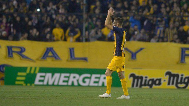 Se tiene fe. Marco Ruben espera quebrar mañana la mala racha goleadora.