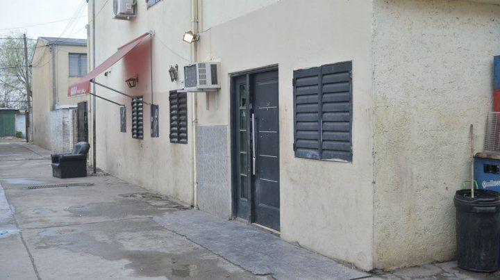 La vivienda de Dorrego al 3900 que fue baleada anoche.
