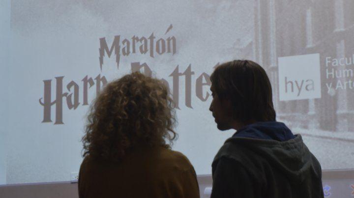 El día que Harry Potter hizo magia en Humanidades