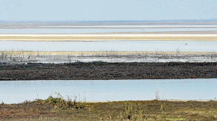 Humo isleño. Este año los focos se agravaron por la bajante y la sequía.