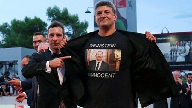 Polémico apoyo de un director a Harvey Weinstein