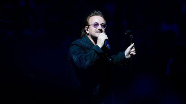 Bono se quedó sin voz y canceló un show