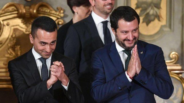 Juntos. Luigi Di Maio y Matteo Salvini