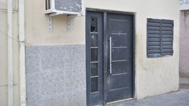 Dorrego al 3900. La casa a donde el sábado entraron a matar a Daiana Irrazábal y Gonzalo Urrieta.