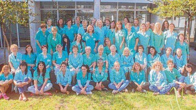 Más de 80 mujeres integran el Servicio de Voluntarias del Hospital de Niños Víctor J. Vilela que este año celebró medio siglo.