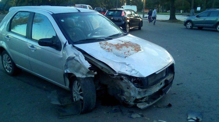 Una joven herida tras un siniestro vial en el Parque Independencia