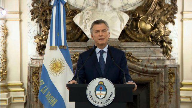 Macri: Estoy más fuerte que nunca para luchar contra los predicadores del miedo