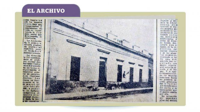 La escuela que crecía y daba jerarquía a la ciudad