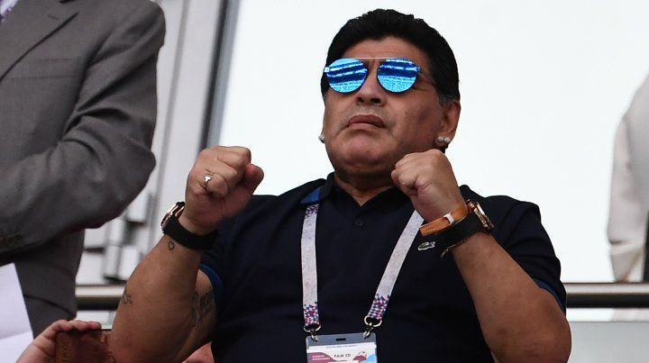 Maradona será abuelo por tercera vez
