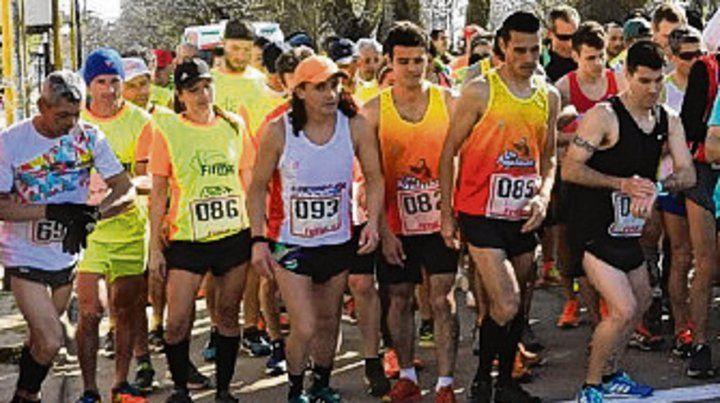Ya se hizo el domingo el maratón.