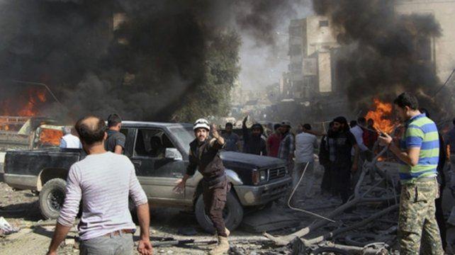 Guerra sin fin. Durante el transcurso del conflicto armado en Siria