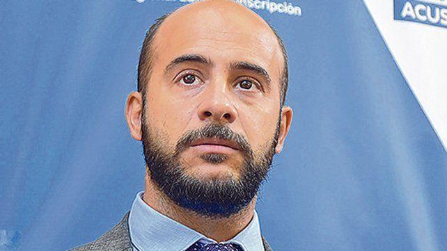Pablo Pinto. El actual juez penal llevó adelante como fiscal la investigación que develó el oscuro caso.