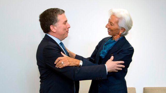 Dujovne aseguró que la reunión con la directora del FMI fue muy buena