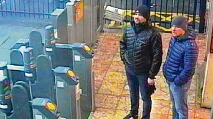 Sorprendidos. Los agentes rusos estuvieron el 3 de marzo en Salisbury.