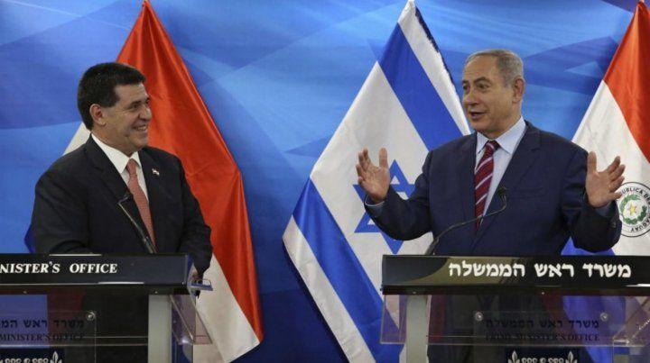 Cartes asistió personalmente en mayo a la ceremonia de inauguración de la nueva sede en Jerusalén