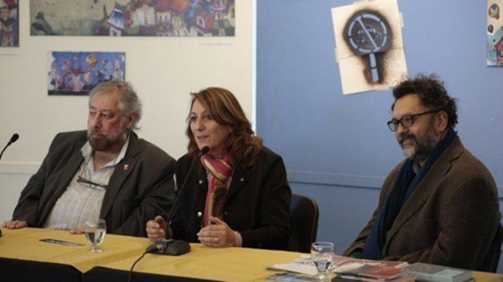 En foco. La intendenta apuntó contra el concejal Roy López Molina.