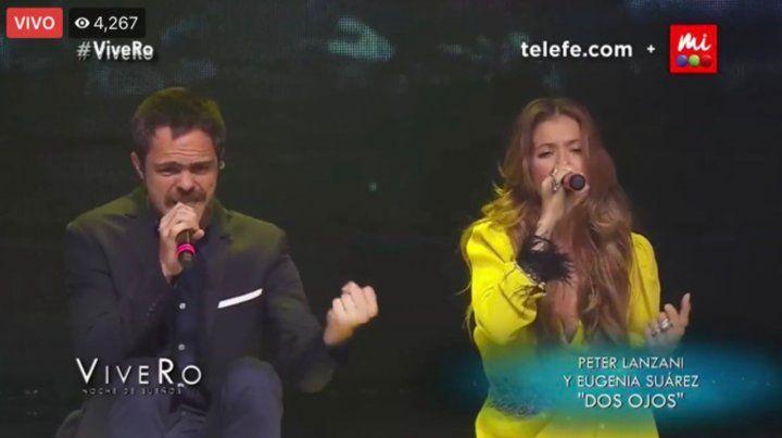 La China Suárez cantó y bailó en el reencuentro de los Casi Angeles en ViveRo